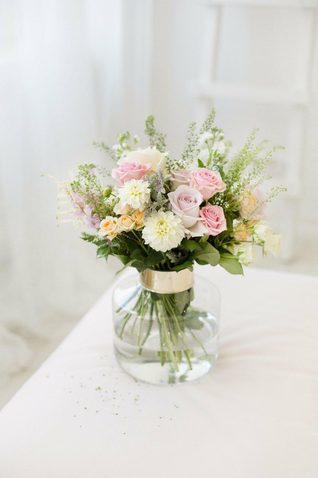 Įvairių gėlių puokštė / summer