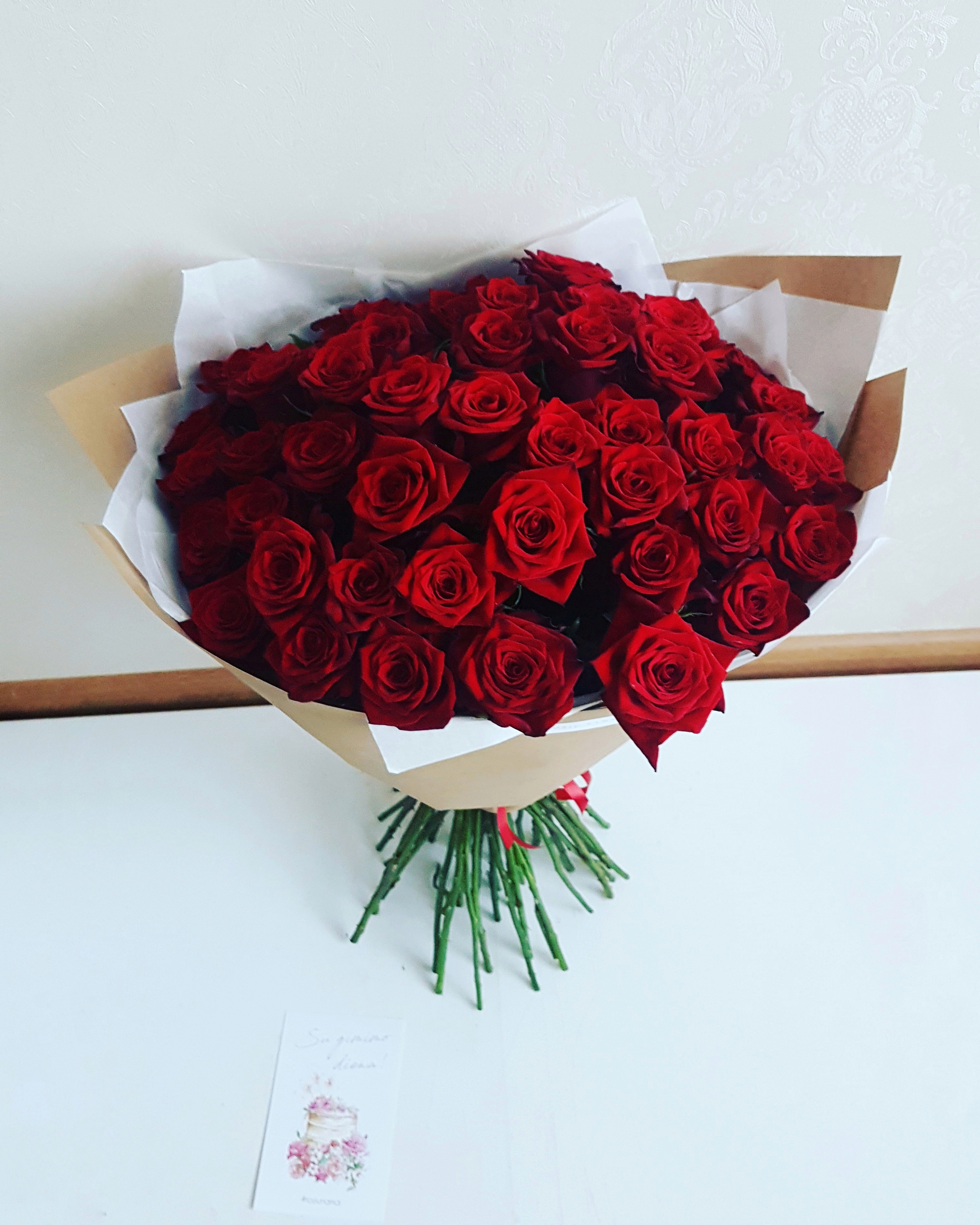 Rožių puokštė / 51 vnt. paveikslelis