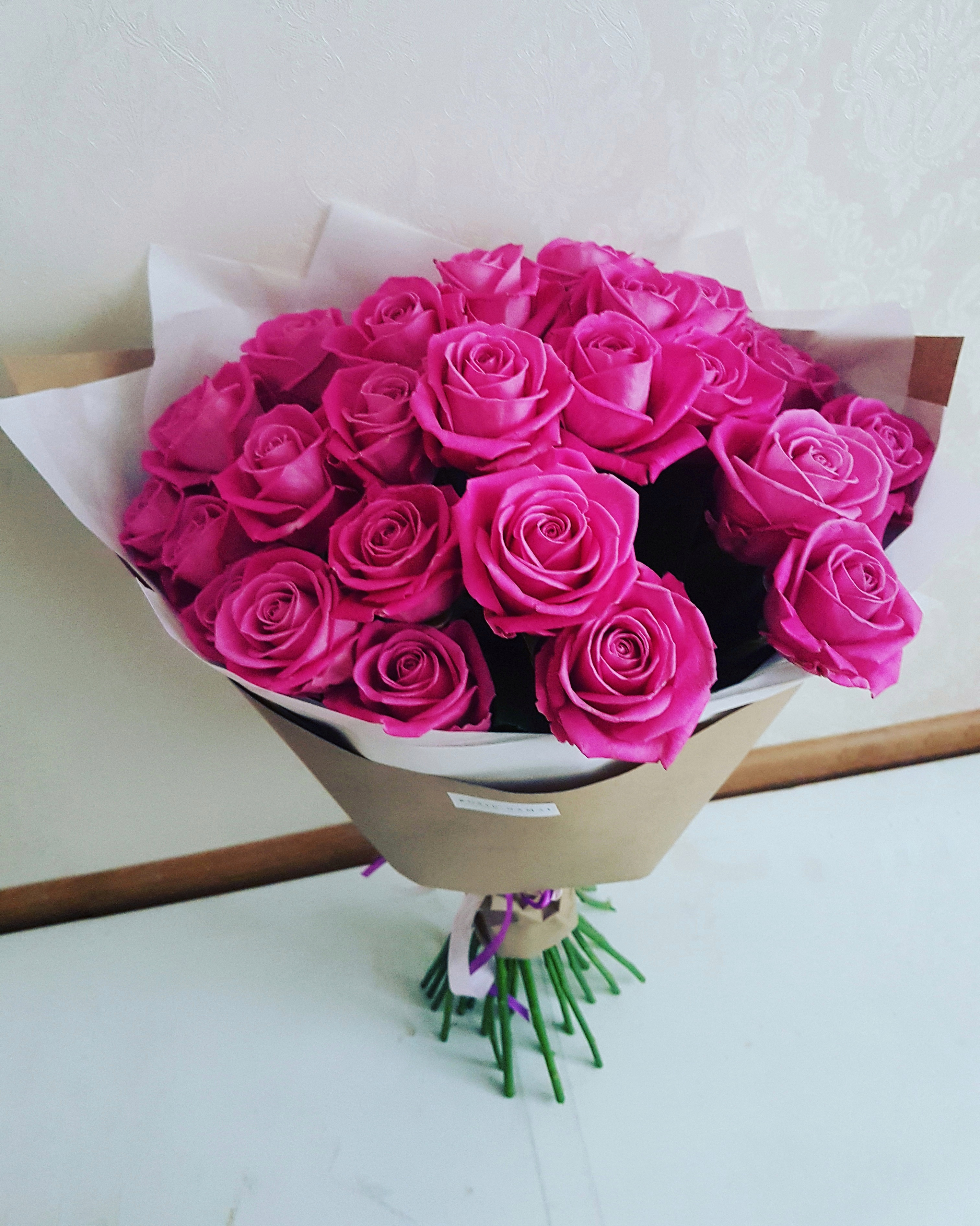 Rožinės rožės / 30 vnt. paveikslelis