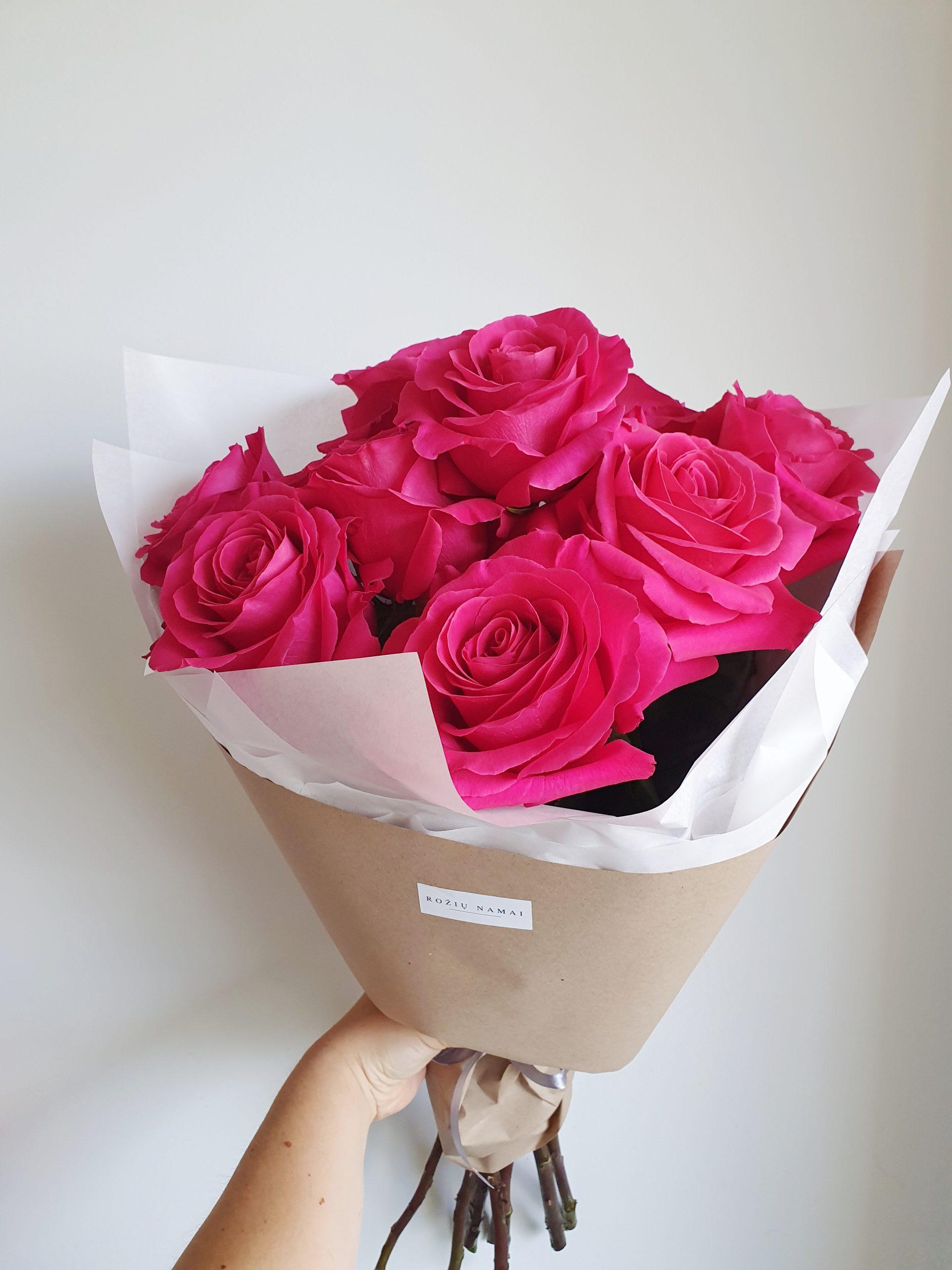 Pink Floyd rožės / 9 vnt.